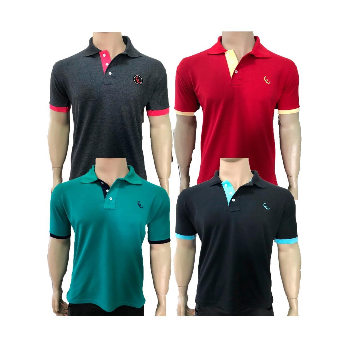 6f1d5937a10f7 camisas camiseta gola polo equilibrio basicas preço atacado. Carregando zoom .