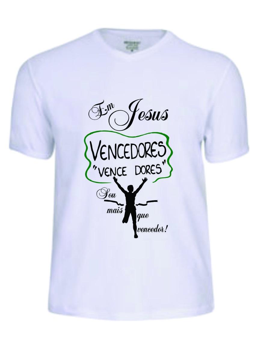c88579615 Carregando zoom. Camisas Camiseta Tshirt Gospel Jesus Frases Evangélica  Deus R