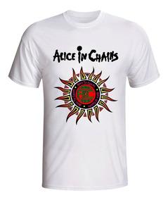 6ede87fb80 Camiseta Banda Rock Alice In Chains - Calçados, Roupas e Bolsas com ...