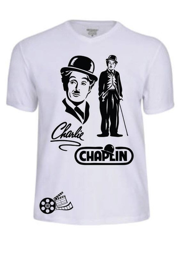 camisas camisetas charlie chaplin filme personalizadas moda