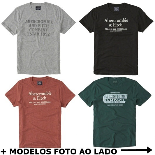 Camisas Camisetas Hollister Abercrombie Aeropostale Original - R  79 ... 772a8171b0