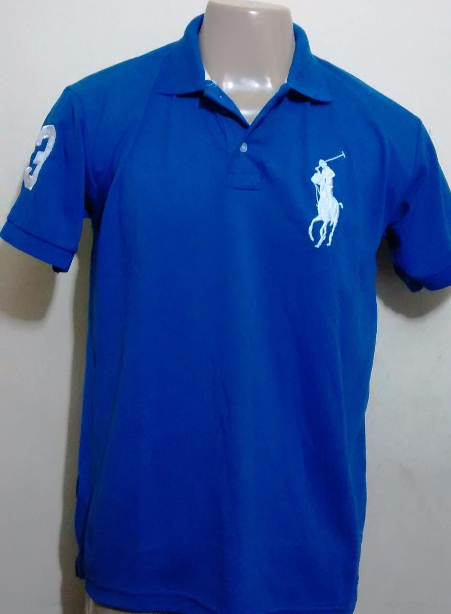 camisas camisetas masculina polo ralph lauren tecido piquet. Carregando  zoom. 7f1867adee2