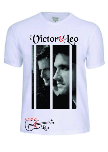 camisas camisetas victor e leo cantor sertanejo baby look