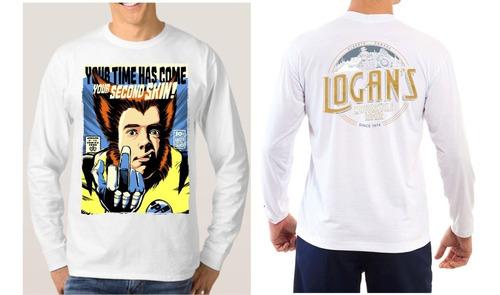 camisas camisetas wolverine marvel games comics