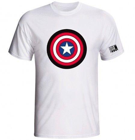 camisas - capitão america