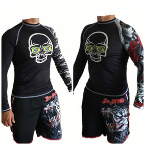 58eaa058cb295 Camisa Manga Longa Mma no Mercado Livre Brasil
