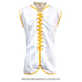 4eba48b8c7e58 Camisa Chinesa Kung Fu - Artes Marciais e Boxe no Mercado Livre Brasil