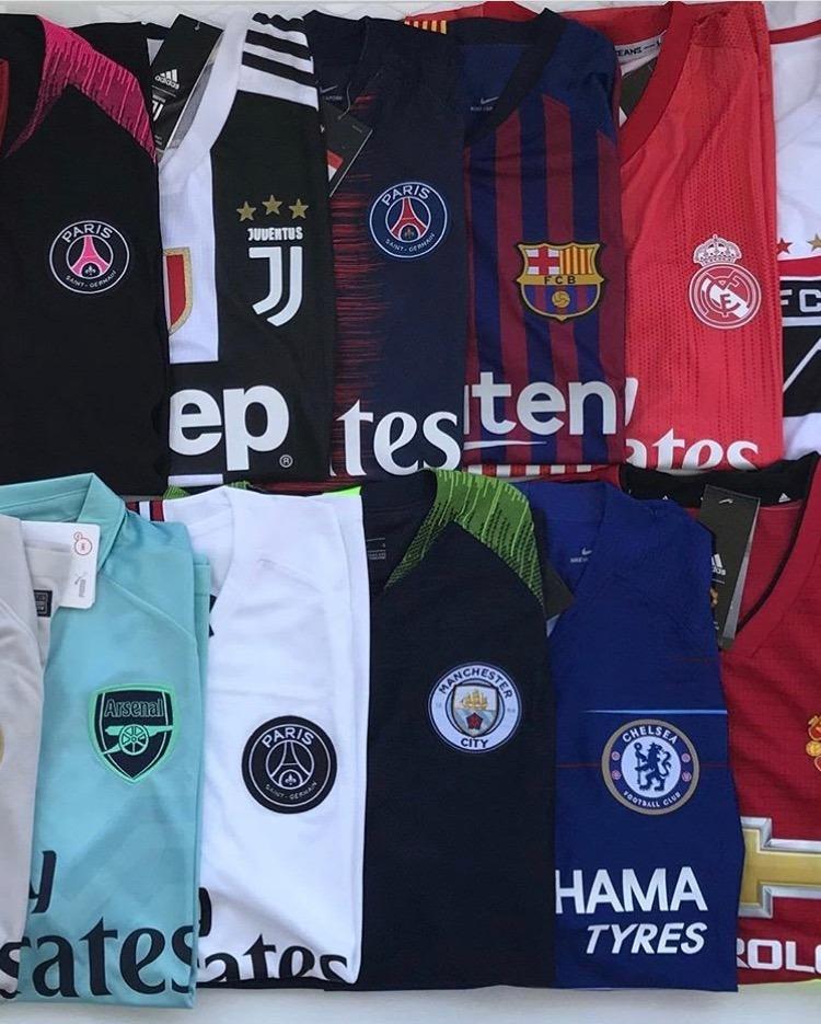 5d23b31277 camisas chelsea barcelona atletico united pronta entrega. Carregando zoom.