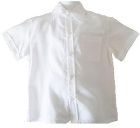 0a3457095 Camisas Chemise Escolares Blancas Y Azules