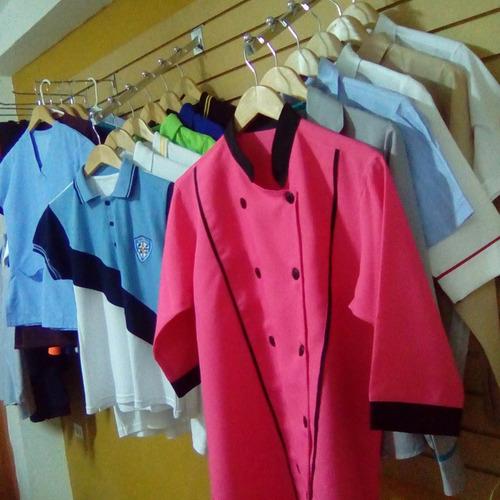 camisas chemises bragas jeans bordado digital uniformes