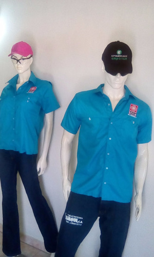 camisas columbia thaslam y antifluido con bordado hot jeans