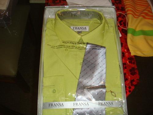 camisas con corbata nueva a estrenar