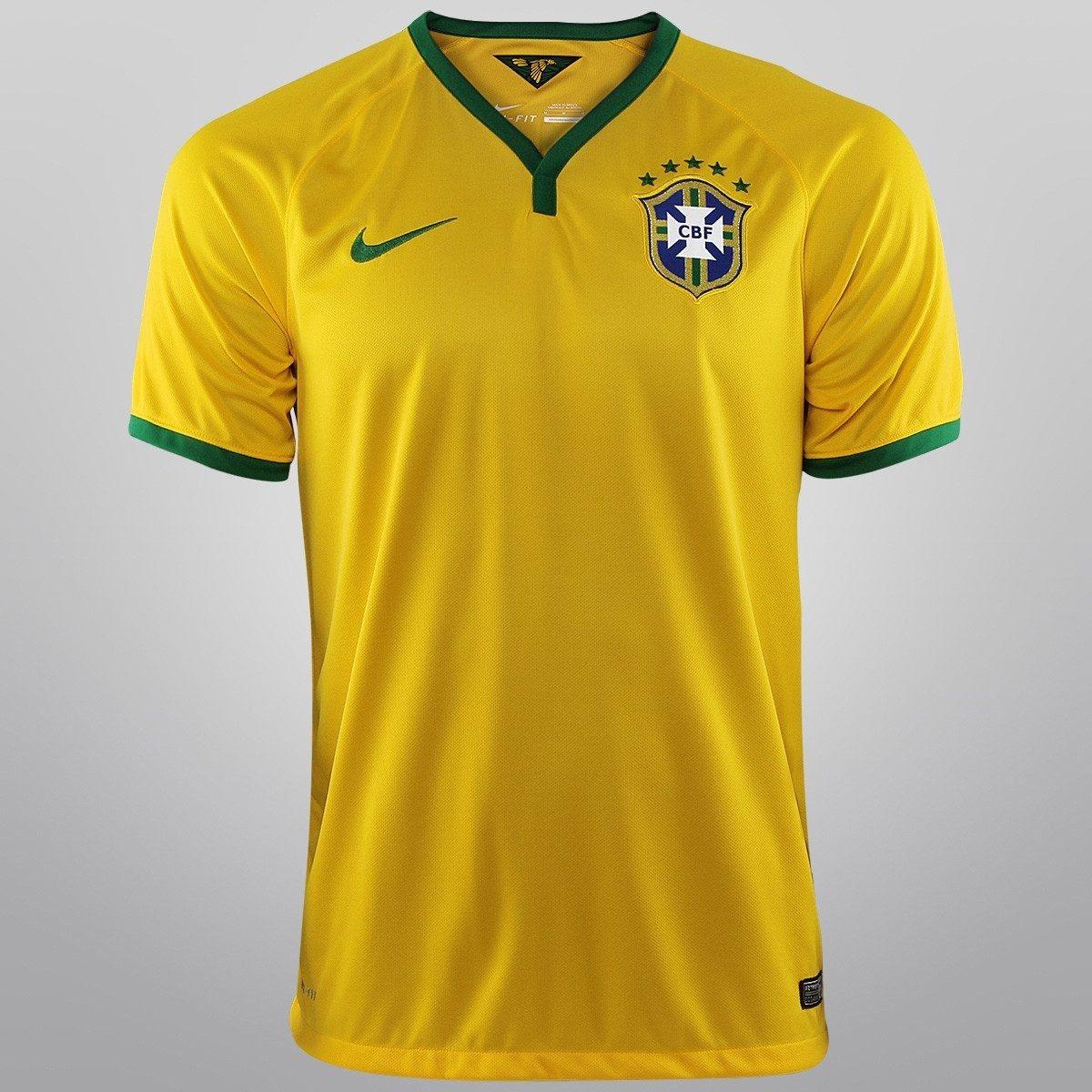 49d544fab camisas da seleção brasileira oficial 2014 authentic jogador. Carregando  zoom.
