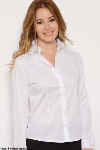 camisas  dama lisas elastizada slim fit varios colores!