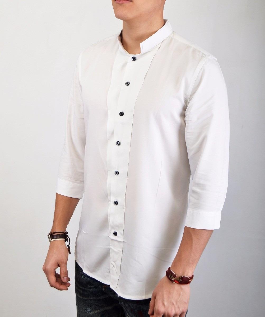 636c1d665 camisas de algodon para hombre blanca. Cargando zoom.
