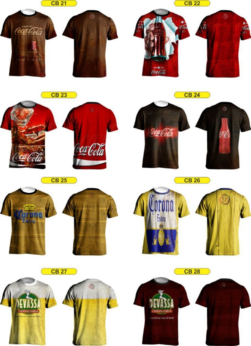 c1a5b861a24b6 Camisas De Cervejas Rústicas Brahma,heineken,skol - R$ 48,00 em ...