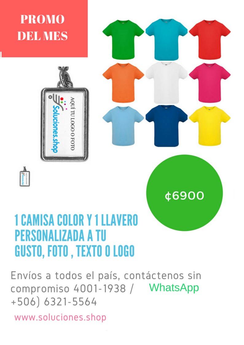 Camisas De Colores Para Hombre Mujer Y Niños ¦ Oferta - ¢ 1.00 en Mercado  Libre 771c958da2e