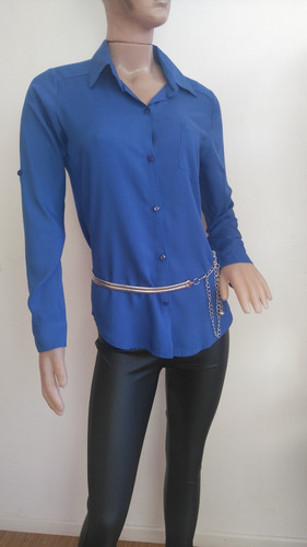 camisas de fibrana cantidad 3