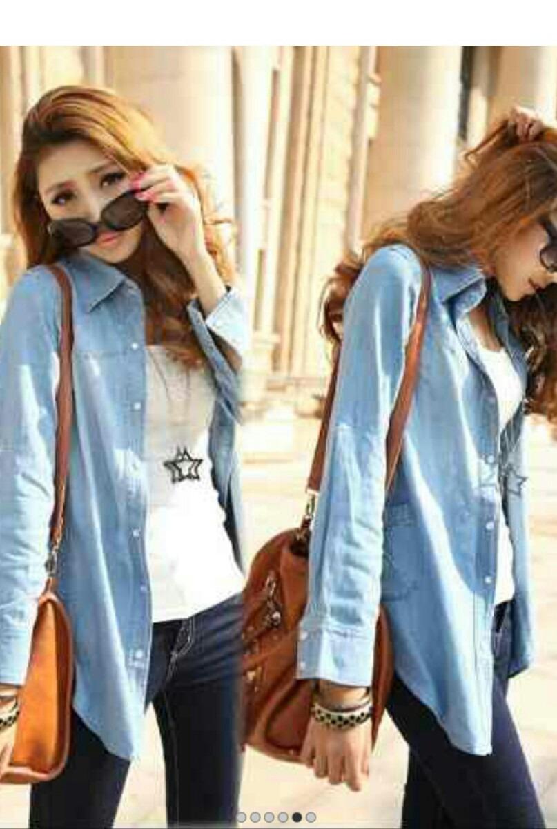 58d5078ee8 camisas de jean para dama mayor y detal. Cargando zoom.