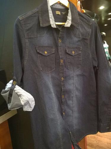 camisas de jeans para hombre