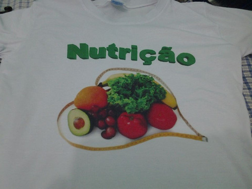 camisas de nutrição