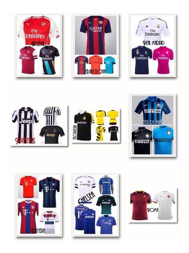 camisas de seleções - times europeus - brasileiros