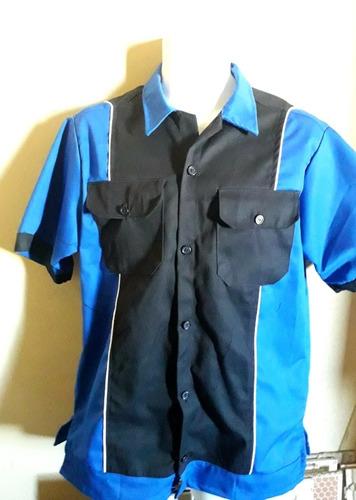 camisas de taller confeccionadas personalizadas impafer