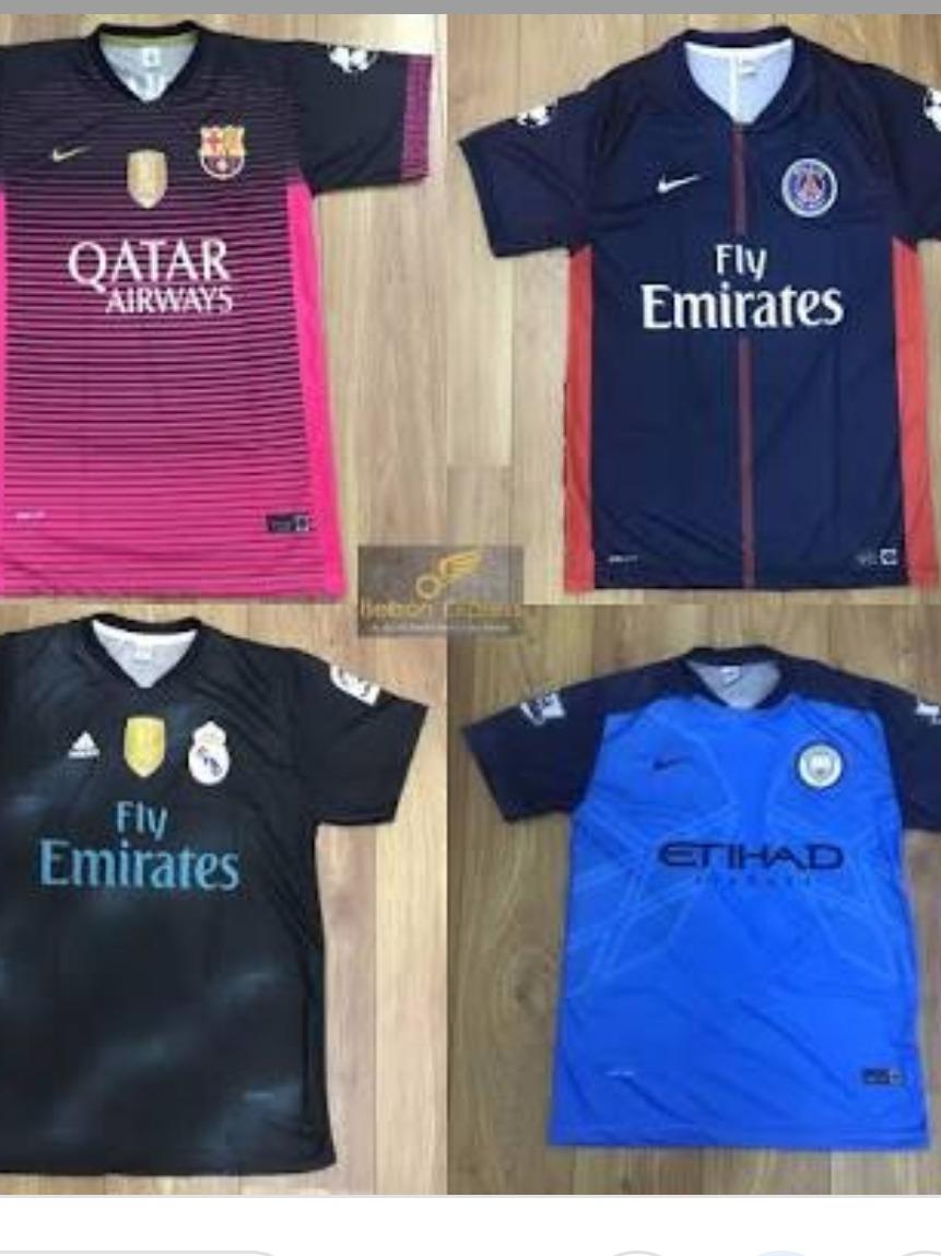 camisas de times europeus e brasileiros. Carregando zoom. e7fe26773cf02