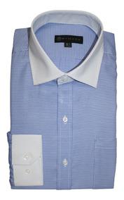 bffdbc5bdea9 Camisa Para Caballero Marca Bellini - Camisas Formal de Hombre Larga Azul  claro en Mercado Libre México