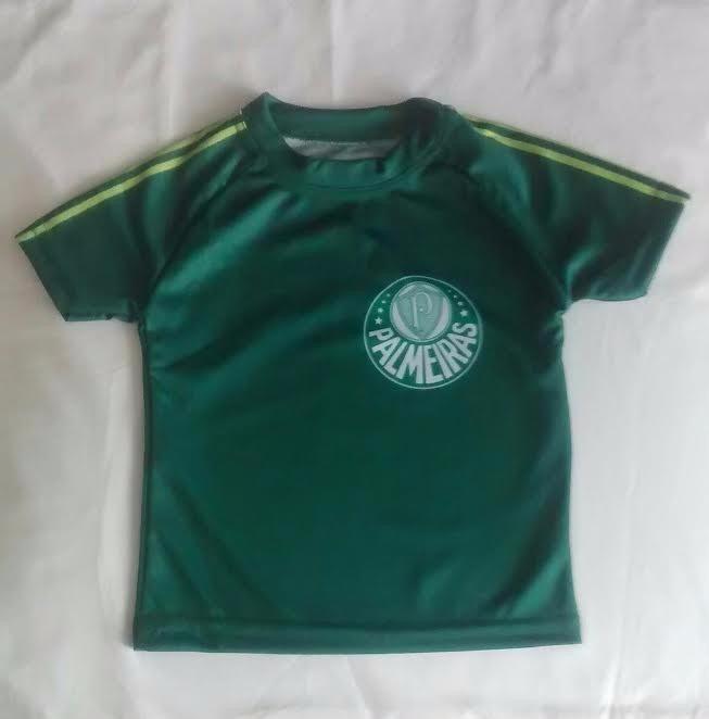 Camisas Do Palmeiras Tamanho Bebê De 0 A 1 Ano De Idade - R  23 7cd6844cab82f