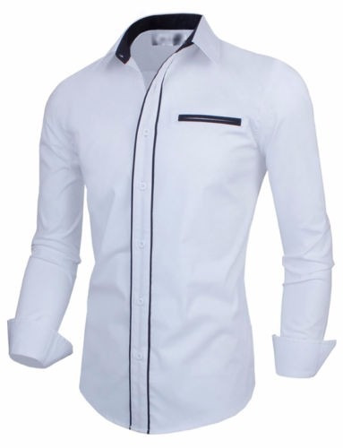 camisas elegantes formal night slimfit shirt moda japonesa