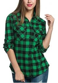 f9c81e7160 Camisa Cuadros Mujer - Ropa y Accesorios en Mercado Libre Argentina
