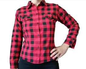8b62f7282 Camisa Cuadros Rojo Negro - Ropa y Accesorios en Mercado Libre Argentina