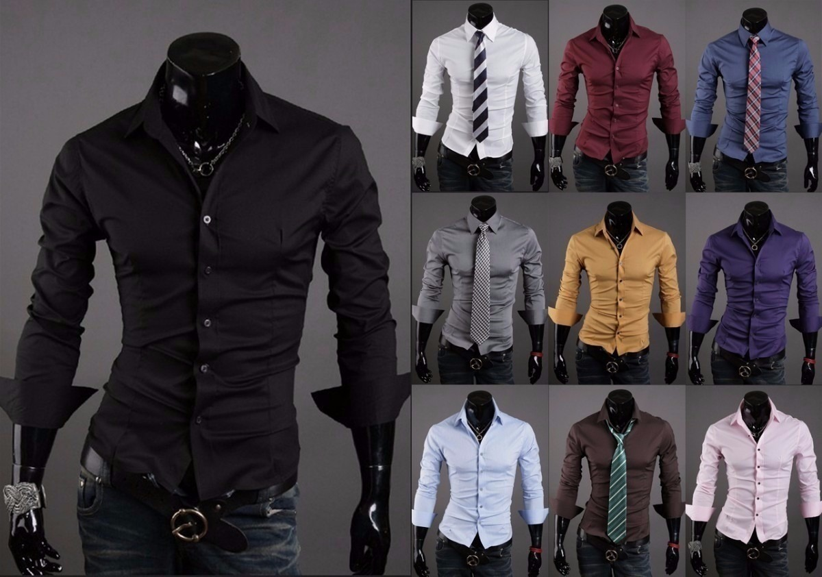 c48414722a463 camisas entalladas slim fit todos los talles! Cargando zoom.