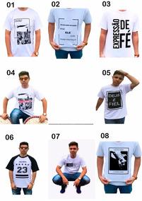 060c980a2 Camiseta Evangelismo Atacado - Calçados, Roupas e Bolsas no Mercado Livre  Brasil