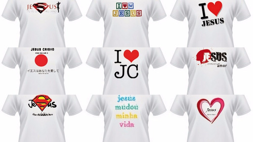 camisas evangelicas pessonalizadas 1un