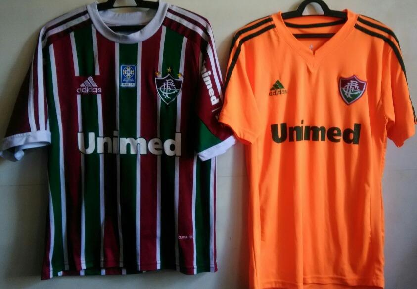 camisas fluminense 2013 - modelos paralelos. Carregando zoom. a56975e86d0ee