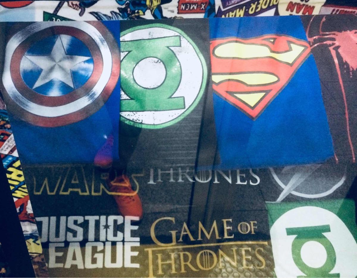 Camisas Franelas Niños Superman Spiderman Marvel - Bs. 1.650 9e18e550508