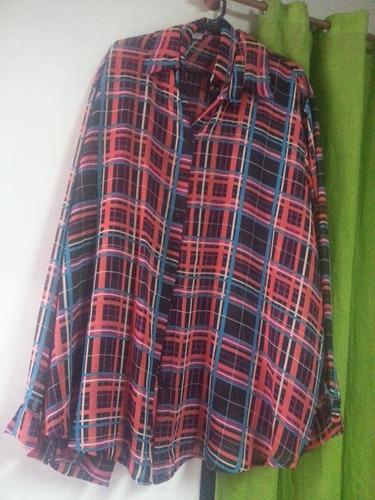 camisas gasa estampada t xl al xxxl ,oferta