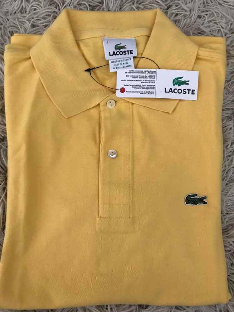 Camisas Gola Polo Lacoste Tamanhos P Masculina - R  180,00 em ... 5d71dd9004