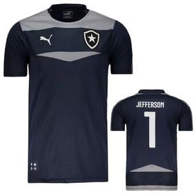 4ca6713ceedb4 Camisa Goleiro Jefferson Botafogo Cinza - Futebol no Mercado Livre Brasil