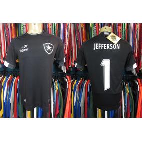72f1fd4f13c1e Camisa Botafogo Preta Com Dourada - Roupas de Goleiro de Futebol no Mercado  Livre Brasil