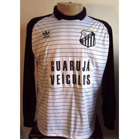 df495737dd48b Camisa Santos Goleiro Amarela - Futebol no Mercado Livre Brasil