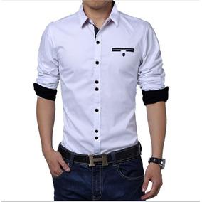 4032af16e Camisas Blancas Elegantes Hombre en Mercado Libre Colombia