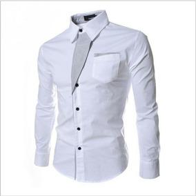 243e8bf8af101 Camisas Hombre Ajustadas Slim Fit en Mercado Libre Colombia