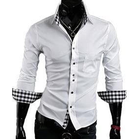 50ac21a001654 Camisa Azul Rey - Camisas de Hombre en Mercado Libre Colombia