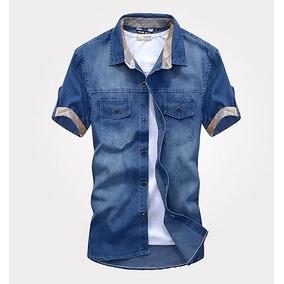 7125fcd936 Camisa Jean Indigo Talla Xs - Camisas de Hombre en Mercado Libre ...