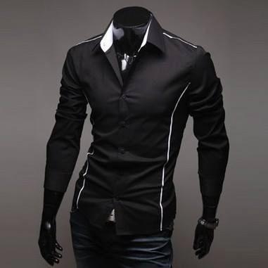 camisas hombre, caballero, casual, slim fit, moda japonesa