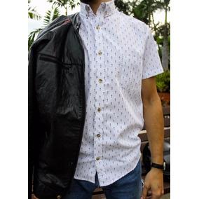 13062141b8396 Camisa Provoque Estampada Casual Juvenil Moda Tailored Fit