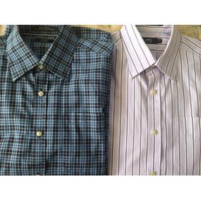 52edfb73954ab Camisas De Hombres Manga Larga Usadas M - Ropa
